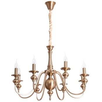 Подвесная люстра Arte Lamp Passoni A6097LM-8PB