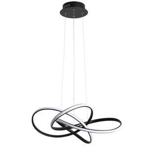 Подвесной светодиодный светильник Arte Lamp Swing A7040SP-4BK