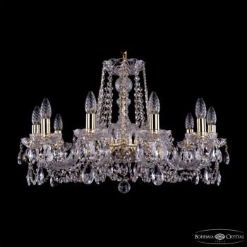 Подвесная люстра Bohemia Ivele Crystal 1402 1402/10/240/G