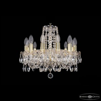 Подвесная люстра Bohemia Ivele Crystal 1402 1402/12/141/G