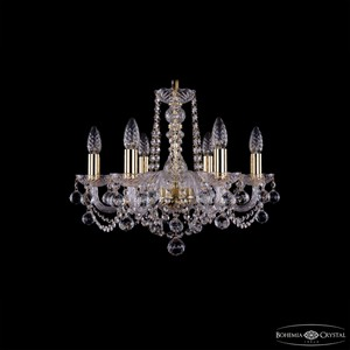 Подвесная люстра Bohemia Ivele Crystal 1402 1402/6/160/G/Balls