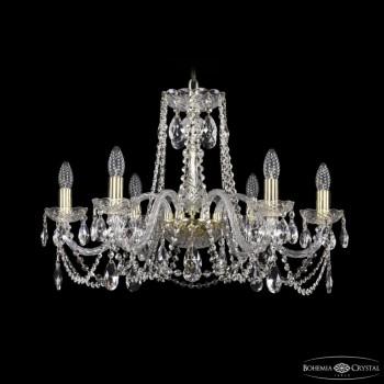 Подвесная люстра Bohemia Ivele Crystal 1402 1402/6/240/G