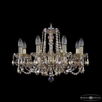 Подвесная люстра Bohemia Ivele Crystal 1402 1402/8/195/G/M701