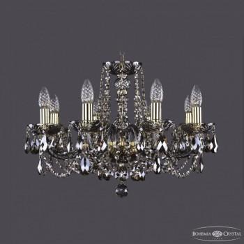 Подвесная люстра Bohemia Ivele Crystal 1402 1402/8/195/G/M731