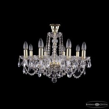 Подвесная люстра Bohemia Ivele Crystal 1402 1402/8/195/G/tube