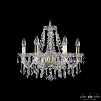 Подвесная люстра Bohemia Ivele Crystal 1403 1403/6/160/G