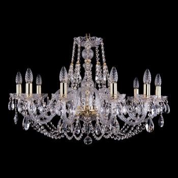 Подвесная люстра Bohemia Ivele Crystal 1406 1406/10/300/G