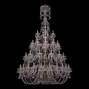 Подвесная люстра Bohemia Ivele Crystal 1406 1406/24+12+12+6/530-230/4d/G