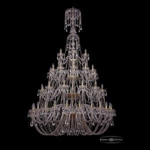 Подвесная люстра Bohemia Ivele Crystal 1406 1406/24+12+12+6/530/XL-230/4d/G