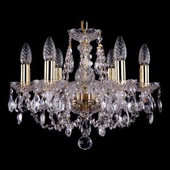 Подвесная люстра Bohemia Ivele Crystal 1406 1406/6/141/G