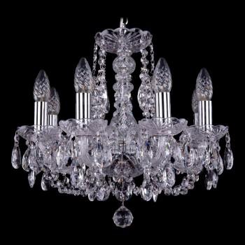 Подвесная люстра Bohemia Ivele Crystal 1406 1406/8/141/Ni
