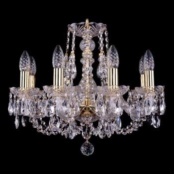 Подвесная люстра Bohemia Ivele Crystal 1406 1406/8/160/G