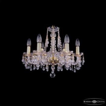 Подвесная люстра Bohemia Ivele Crystal 1410 1410/6/160/G/V0300