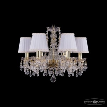 Подвесная люстра Bohemia Ivele Crystal 1410 1410/6/160/G/V0300/SH13A