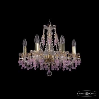 Подвесная люстра Bohemia Ivele Crystal 1410 1410/6/160/G/V7010