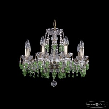 Подвесная люстра Bohemia Ivele Crystal 1410 1410/8/160/Pa/V5001