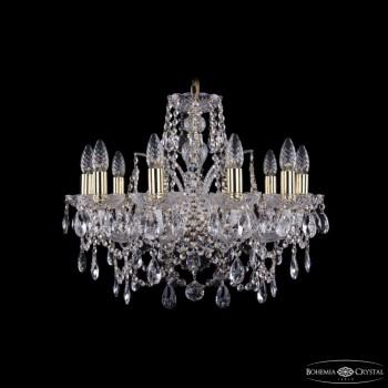 Подвесная люстра Bohemia Ivele Crystal 1411 1411/10/195/G