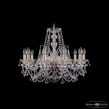 Подвесная люстра Bohemia Ivele Crystal 1411 1411/10/240/G/Balls