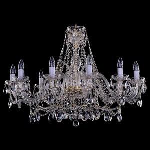 Подвесная люстра Bohemia Ivele Crystal 1411 1411/12/360-66/G