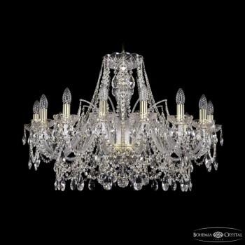 Подвесная люстра Bohemia Ivele Crystal 1411 1411/16/300/G