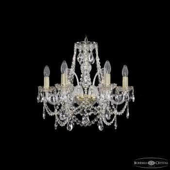 Подвесная люстра Bohemia Ivele Crystal 1411 1411/6/160/G