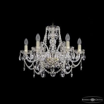 Подвесная люстра Bohemia Ivele Crystal 1411 1411/6/195/G