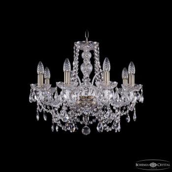 Подвесная люстра Bohemia Ivele Crystal 1411 1411/8/195/Pa