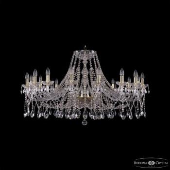 Подвесная люстра Bohemia Ivele Crystal 1413 1413/16/400/G