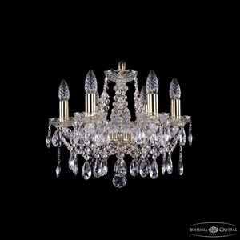 Подвесная люстра Bohemia Ivele Crystal 1413 1413/6/141/G