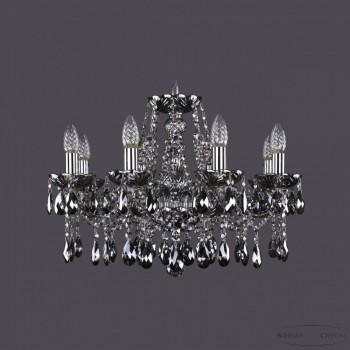 Подвесная люстра Bohemia Ivele Crystal 1413 1413/8/200/Ni/M731