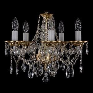 Подвесная люстра Bohemia Ivele Crystal 1613 1613/5/141/G