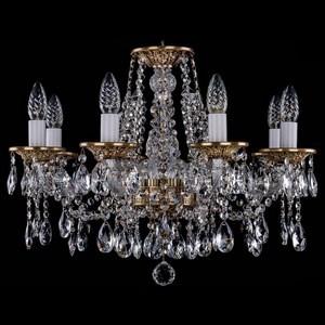 Подвесная люстра Bohemia Ivele Crystal 1613 1613/8/200/FP