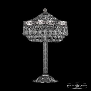 Настольная лампа декоративная Bohemia Ivele Crystal 1901 19011L6/25IV Ni