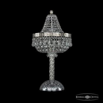 Настольная лампа декоративная Bohemia Ivele Crystal 1927 19271L4/H/25IV Ni