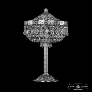 Настольная лампа декоративная Bohemia Ivele Crystal 1927 19271L6/25IV Ni