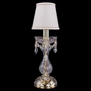 Настольная лампа декоративная Bohemia Ivele Crystal 5700 1400L/1-27/G/SH40A