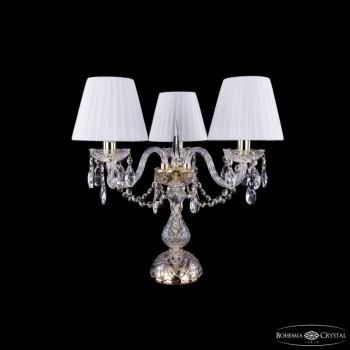 Настольная лампа декоративная Bohemia Ivele Crystal 5706 1406L/3/141-39/G/SH2-160
