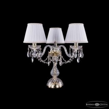 Настольная лампа декоративная Bohemia Ivele Crystal 5706 1406L/3/141-39/G/SH2A-160