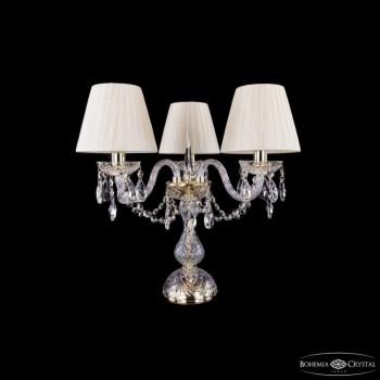 Настольная лампа декоративная Bohemia Ivele Crystal 5706 1406L/3/141-39/G/SH33-160