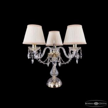 Настольная лампа декоративная Bohemia Ivele Crystal 5706 1406L/3/141-39/G/SH33A-160