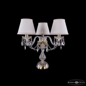 Настольная лампа декоративная Bohemia Ivele Crystal 5706 1406L/3/141-39/G/SH40A-160