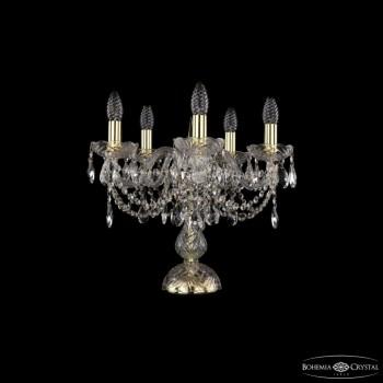 Настольная лампа декоративная Bohemia Ivele Crystal 5706 1406L/5/141-39/G