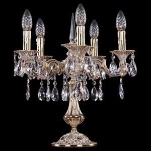 Настольная лампа декоративная Bohemia Ivele Crystal 7001 1702L/5/CK125IV-45/A/GW