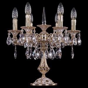 Настольная лампа декоративная Bohemia Ivele Crystal 7001 1702L/6/CK125IV-45/A/GW