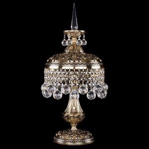 Настольная лампа декоративная Bohemia Ivele Crystal 7002 7002/20-47/GB