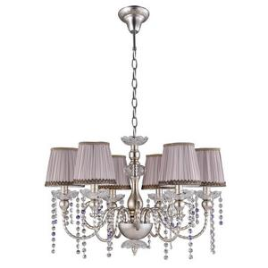 Подвесная люстра Crystal Lux Alegria ALEGRIA SP6 SILVER-BROWN