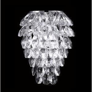 Настенный светильник Crystal Lux Charme AP2+2 LED Chrome/Transparent