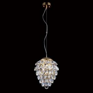 Подвесной светильник Crystal Lux Charme SP2+2 LED Gold/Transparent