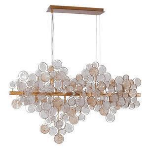 Подвесной светильник Crystal Lux Deseo SP12 L1000 Gold