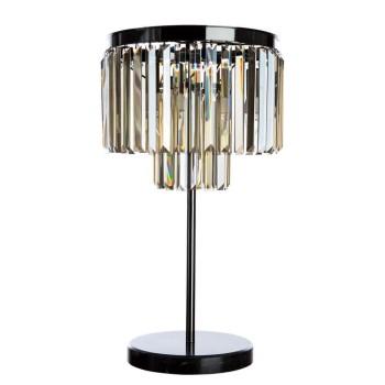 Настольная лампа декоративная Divinare Nova коньячный цвет 3002/06 TL-3